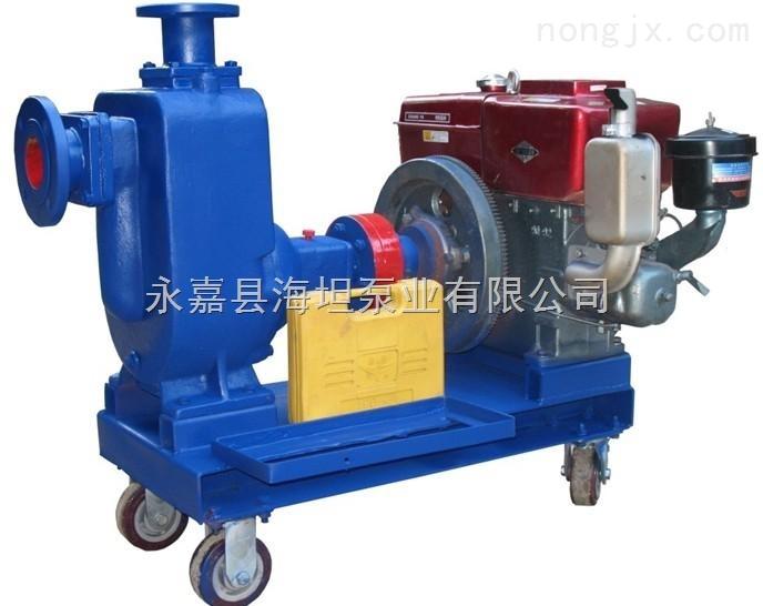 ZWC40-10-20型-ZWC40-10-20型柴油机自吸排污泵ZWC型自吸泵系列