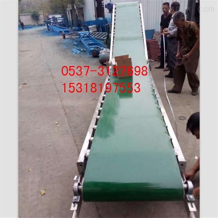 500-化工胶带输送机  重型平板式输送机 曹