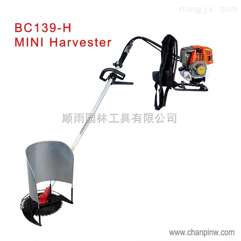 四冲程背负式小型收割机便携式水稻小型青稞