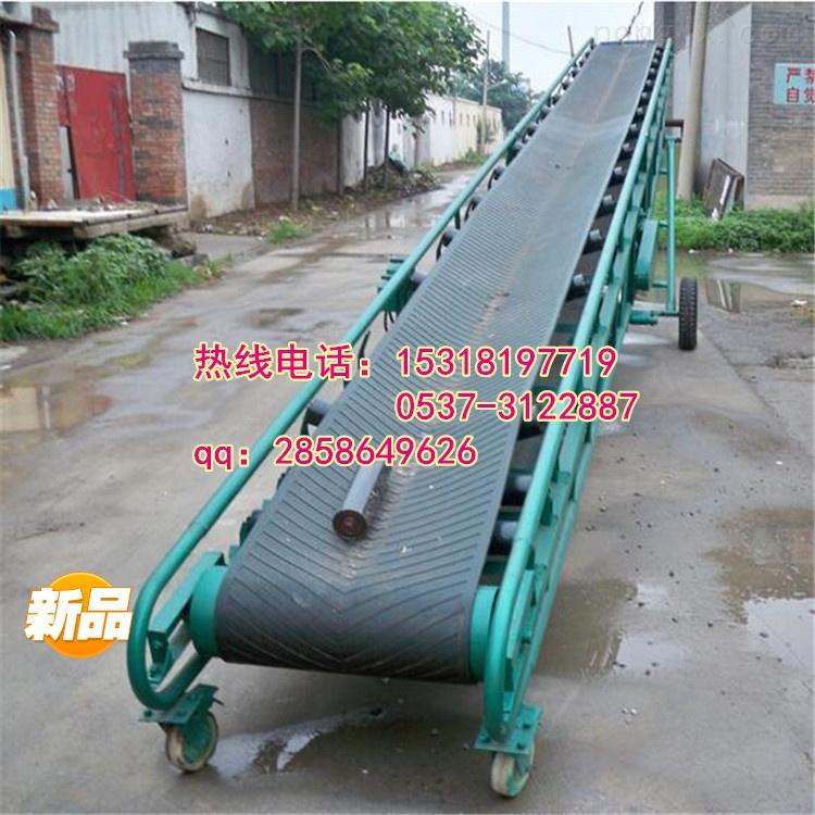 dy500-灵寿县电动滚筒式自动装车机滚筒带式输送机y6