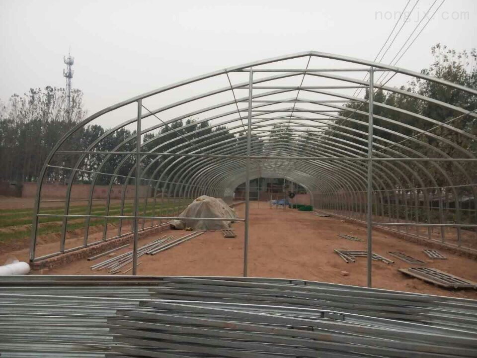 宣城几字钢拱棚建设成本育苗大棚建造厂家