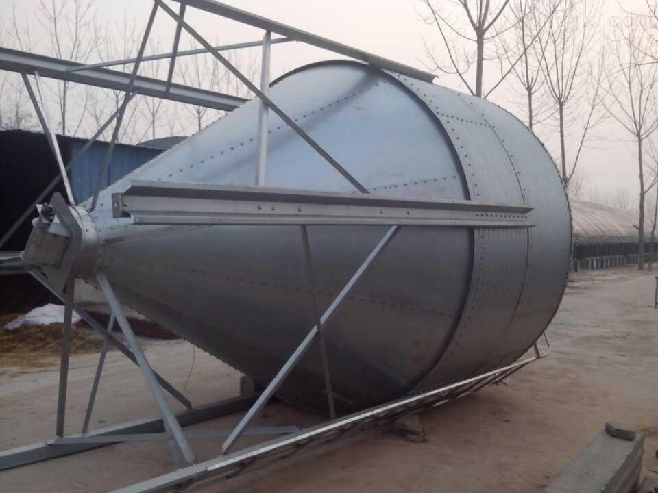 山东机械禽用设备畜牧养殖专用散装饲料专用养殖料塔