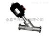 S681W-16P,25P不锈钢快装式气动角座阀,硬密封快装式气动角座阀,耐高温快装式气动角座阀