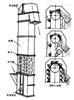 垂直输送斗提机 垂直上料机 斗式链条提升机